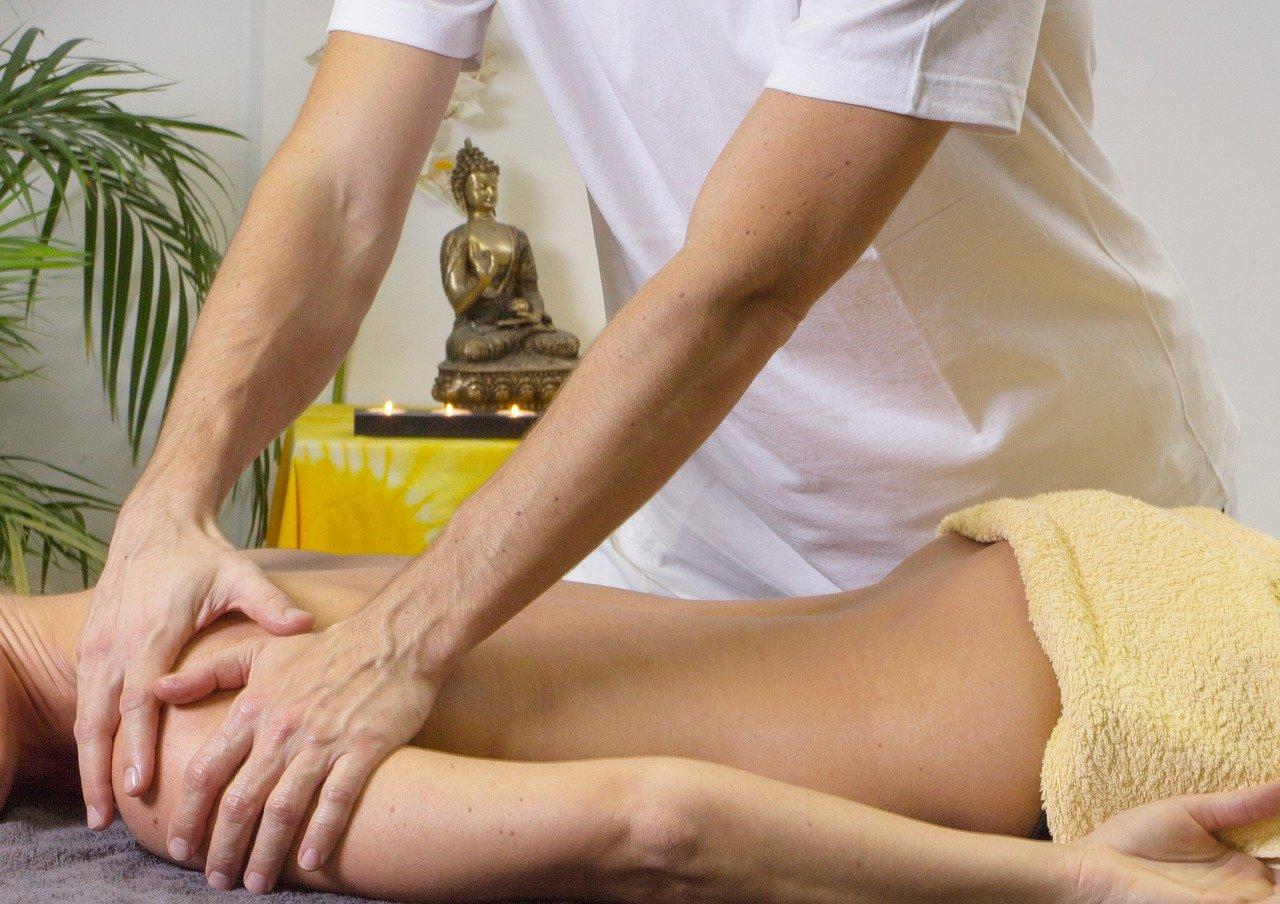 Massage bei Muskelkater